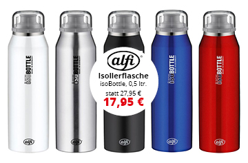 Alfi isoBottle Isolierflasche Pure