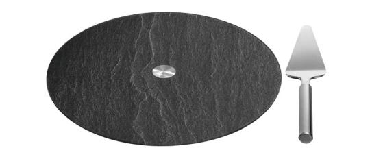 Leonardo Sevierplatte mit Tortenheber