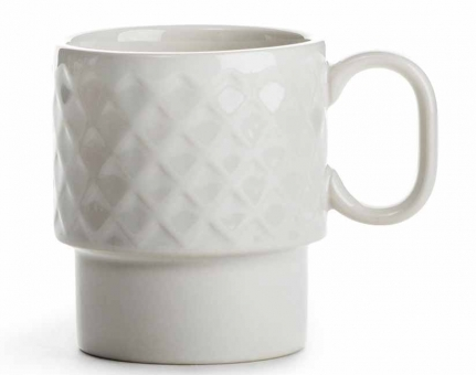 Sagaform Coffee & More Kaffeebecher 0,25 L weiß