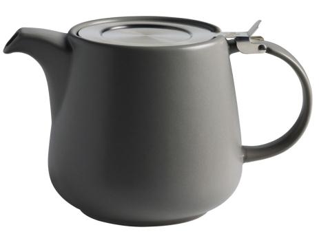 Maxwell & Williams Teekanne 0,6 L Dunkelgrau Tint