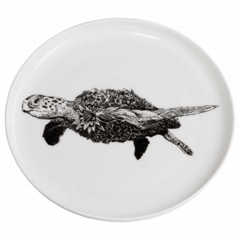 Maxwell & Williams Teller 20 cm Green Sea Turtle Marini Ferlazzo