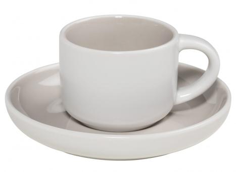 Maxwell & Williams Espressotasse mit Untere Hellgrau Tint