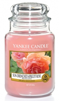 Yankee Candle Kerze groß Sun-Drenched Apricot Rose