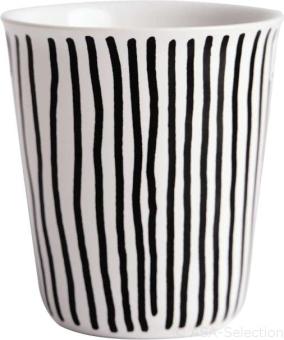 ASA Selection Coppetta Becher Espresso Vertical Stripes