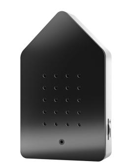 Zwitscherbox BirdyBox matt schwarz