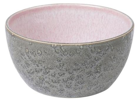 Bitz Bowl 14 cm grau/hellpink
