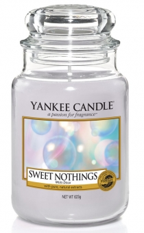Yankee Candle Kerze groß Sweet Nothings