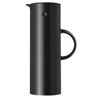 Stelton EM77 Isolierkanne 1 L schwarz