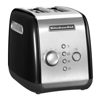 KitchenAid Artisan 2er Toaster Onyx Schwarz