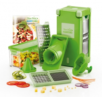 Genius Nicer Dicer Magic Cube Set 12-tlg. Set