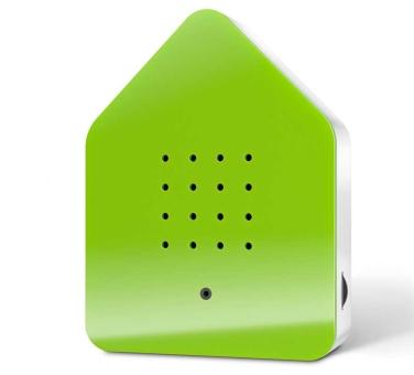 Zwitscherbox Klassik grün