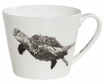 Maxwell & Williams Becher breit Green Sea Turtle Marini Ferlazzo