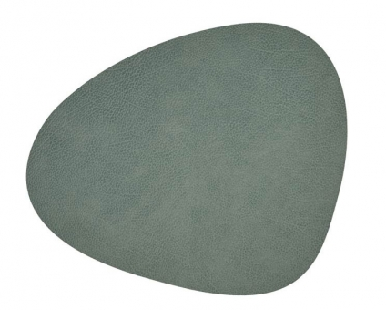 Lind DNA Table Mat Curve L Hippo Pastel Green