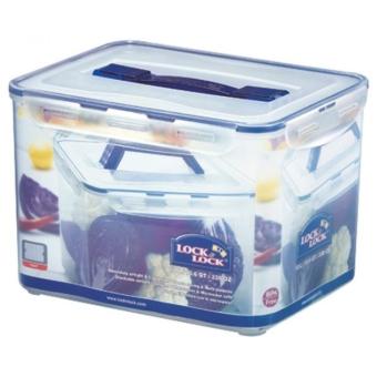 Lock & Lock Frischhaltebox 10 L mit Griff und Gitter