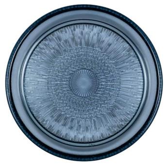 Bitz Glasteller 18 cm blau