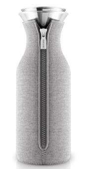 Eva Solo Kühlschrankkaraffe mit Anzug 1 L Woven Light grey