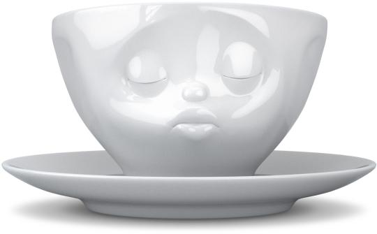 Fiftyeight Kaffee Tasse küssend weiß
