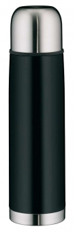 Alfi isoTherm Isolierflasche Eco II schwarz 0,75 L