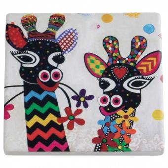 Maxwell & Williams Keramikuntersetzer Zarafa Smile Style