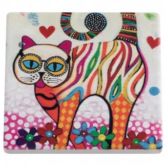 Maxwell & Williams Keramikuntersetzer Tabby Smile Style