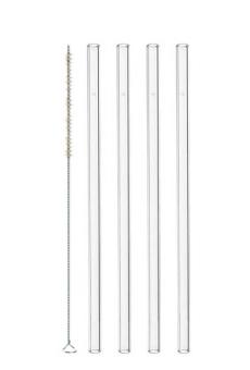 Leonardo Glastrinkhalme 4-tlg. 20 cm + Bürste Ciao