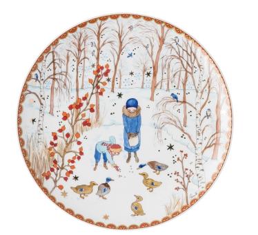 Hutschenreuther Teller Flach 22 cm Sammelkollektion 2021 Weihnachtsgaben
