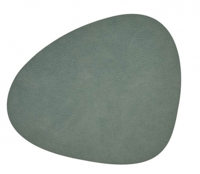 Lind DNA Table Mat Curve S Hippo Pastel Green