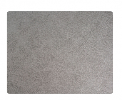 Lind DNA Table Mat Square L Hippo Anthracite-Grey
