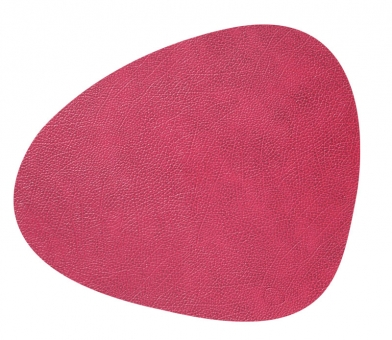 Lind DNA Table Mat Curve L Hippo Raspberry