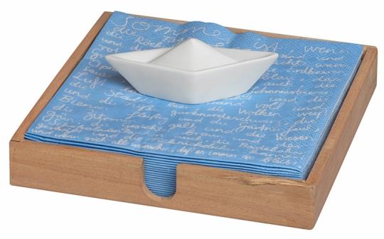 Räder P.e.t. Serviettenhalter Boot 18x18x2,5 cm