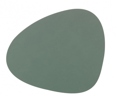 Lind DNA Table Mat Curve L Nupo Pastel Green