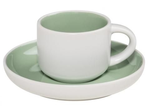 Maxwell & Williams Espressotasse mit Untere Mint Tint