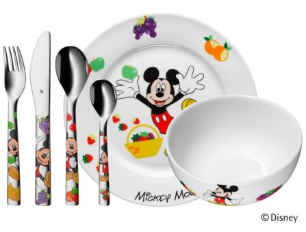 WMF Kinderbesteck-Set 6-tlg. Mickey Mouse