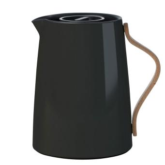 Stelton Emma Isolierkanne Tee 1 L schwarz