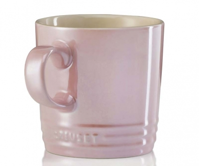 Le Creuset Becher 350 ml Metallics Chiffon Pink Poterie