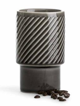 Sagaform Coffee & More Lattebecher grau