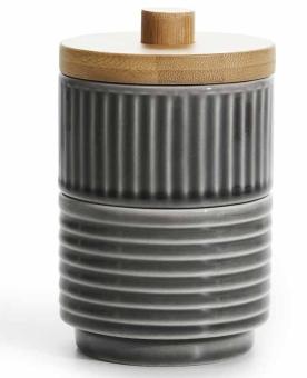 Sagaform Coffee & More Schalen 8 cm mit Bambus-Deckel 2er Set
