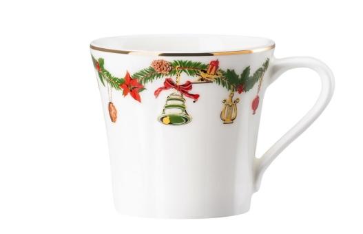 Hutschenreuther Nora Espresso-Obertasse Christmas