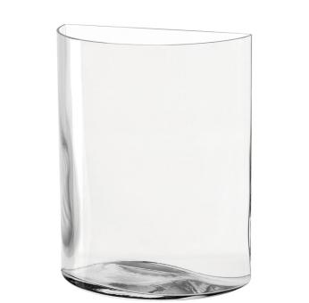 Leonardo Centro Vase 34 cm Halbkreis