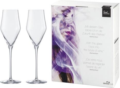 Eisch Sky Sensis plus Champagner 2 Stk. im Geschenkkarton