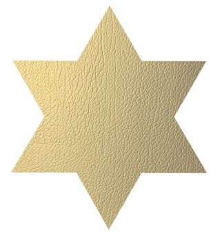 Lind DNA Star Table Mat Hippo Gold 1,6 mm