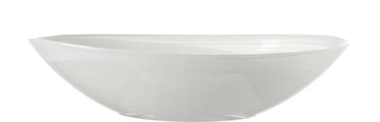 Leonardo Alabastro Schale Oval 22 cm Weiß