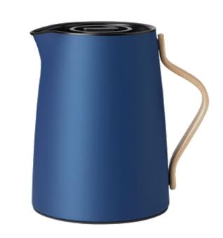 Stelton Emma Isolierkanne Tee 1 L dark blue