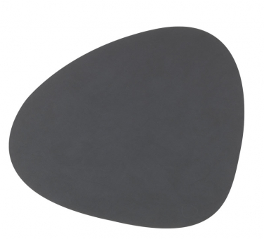 Lind DNA Table Mat Curve L Nupo Anthracite