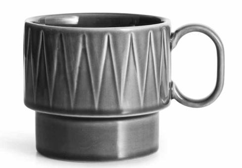 Sagaform Coffee & More Teebecher Grau H90Mm