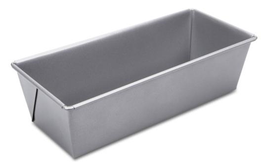Städter Kastenform 24x10x7 cm Silber