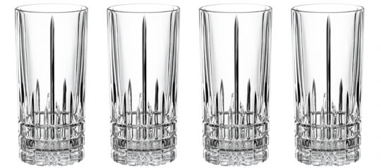 Spiegelau Perfect Serve Collection Longdrinkglas 4er Set 281/91
