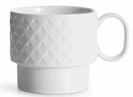 Sagaform Coffee & More Teebecher Weiß H90Mm