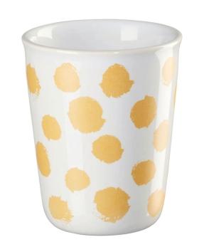 ASA Selection Coppetta Becher Espresso Yellow Spots 0,1 L