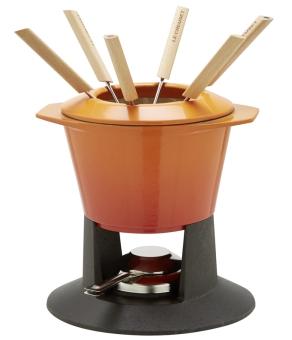 Le Creuset Fondue Set Gourmand Ofenrot